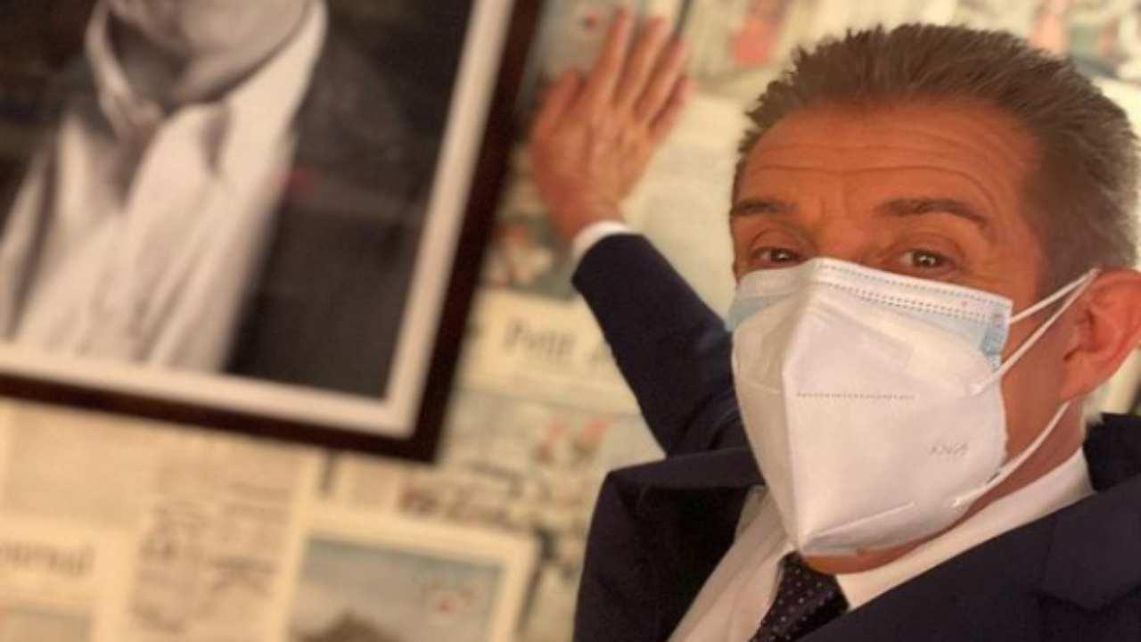 Ezio Greggio pandemia