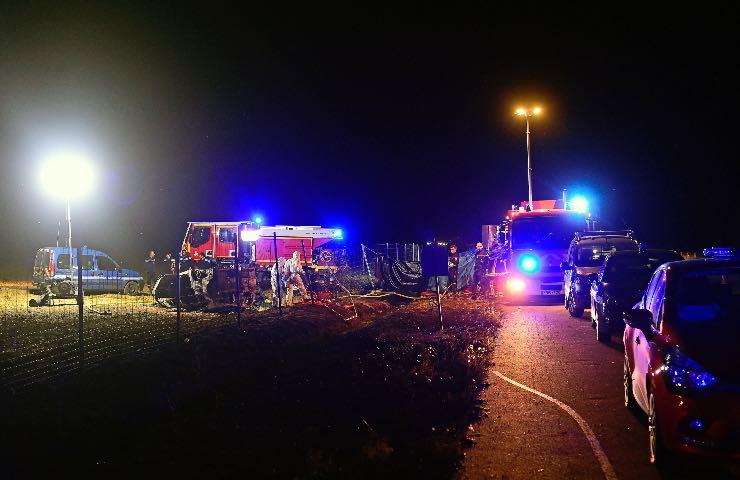 Tragedia, Incidente stradale Roma