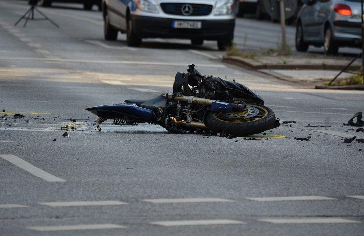 Tragedia, Incidente moto