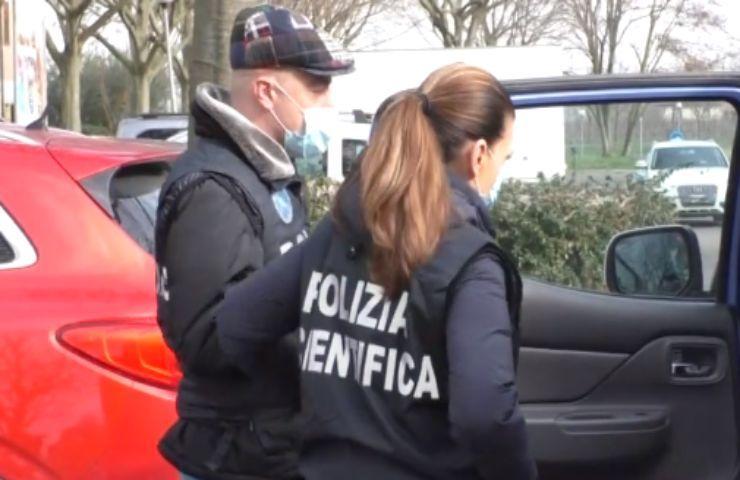 polizia bimbe rapite