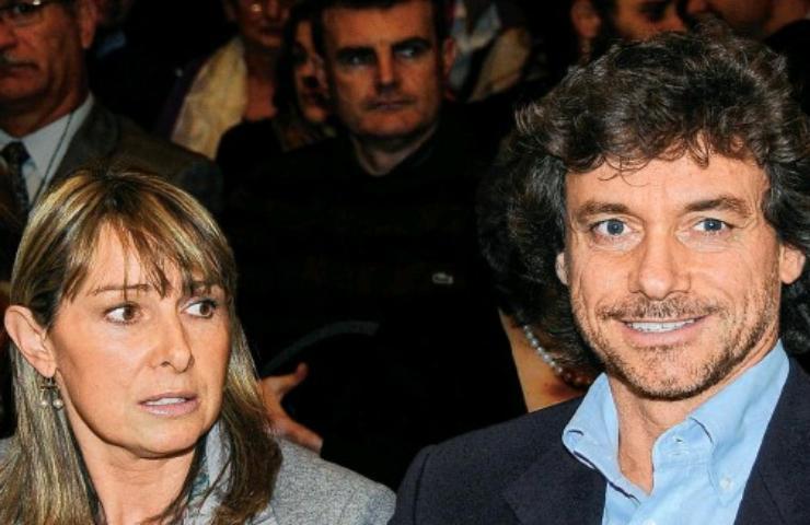 Alberto Angela e la moglie Monica