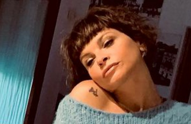 Alessandra Amoroso tatuaggio