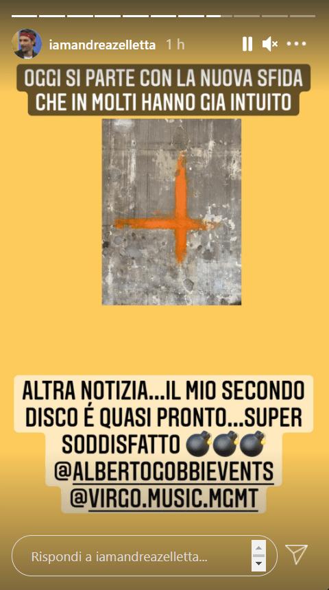 Andrea Zelletta annuncia nuovo disco