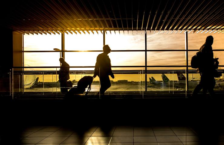 Covid Italia aeroporto