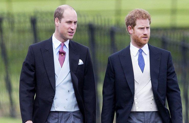 Royal Family contrasti tra Harry e William
