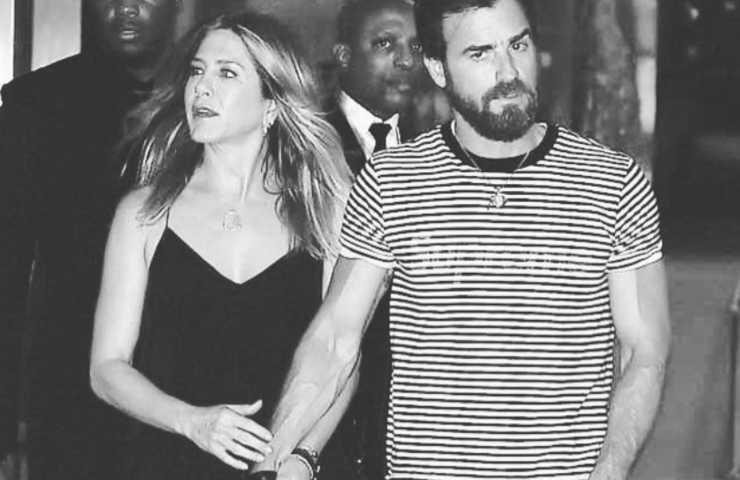 Justin Theroux confessione relazione Jennifer Aniston