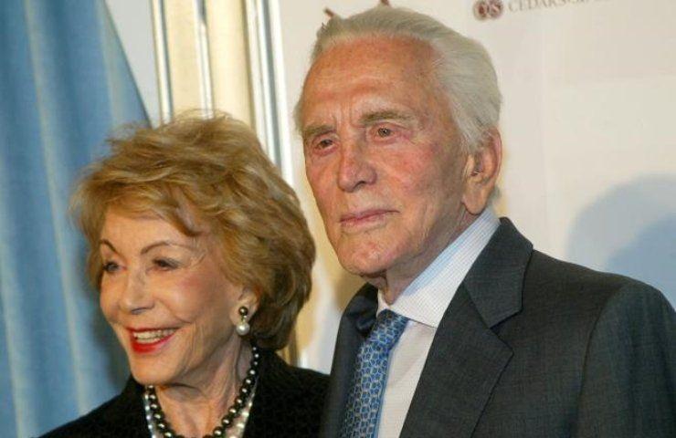 Kirk Douglas e Anne Douglas Buydens