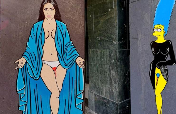 """Break The Taboo"" arriva a Milano con Kim Kardahian e Marge Simpson"