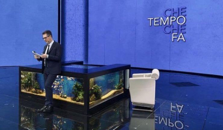 """Fabio Fazio, annuncio in diretta tv per """"Che tempo che fa"""""""