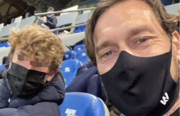 Francesco Totti e un ricordo senza tempo: quattro anni dopo è di nuovo lì