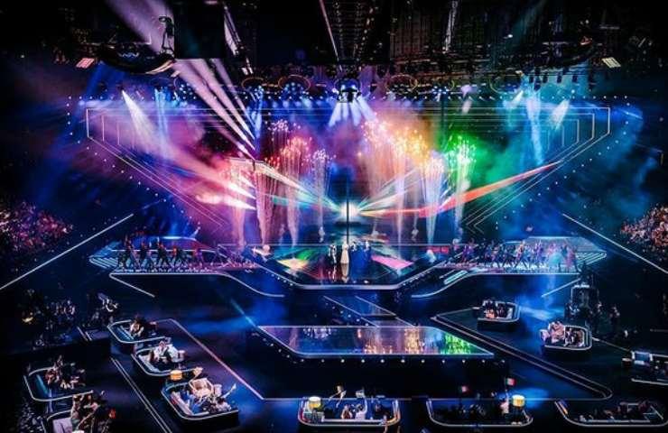 Palcoscenico Eurovision 2021 Rotterdam