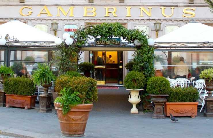 Il Gran Caffè Gambrinus di Napoli