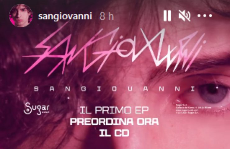 Amici 20, Sangiovanni dedica il suo album ad una persona speciale: ma non è Giulia