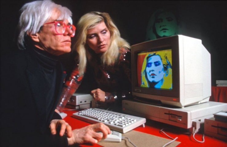 Andy Warhol e la digital art