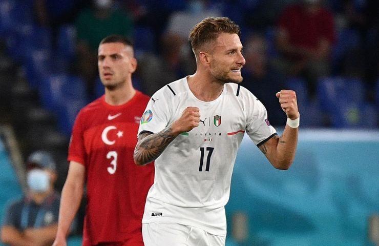 Ciro Immobile in Turchia Italia