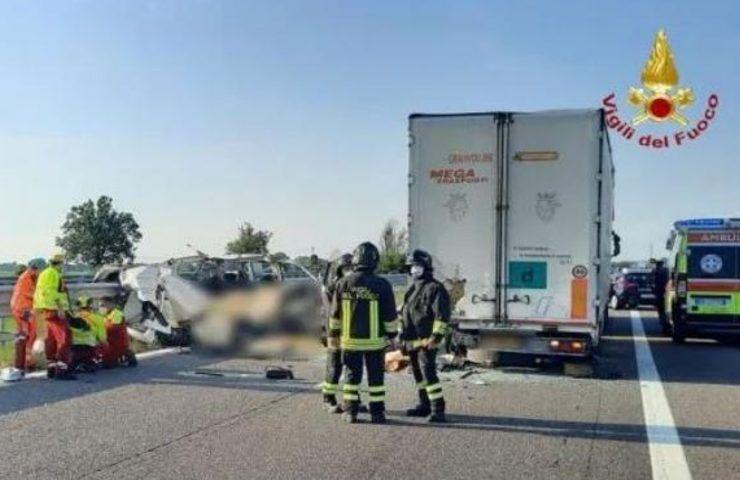 Incidente stradale a Piacenza
