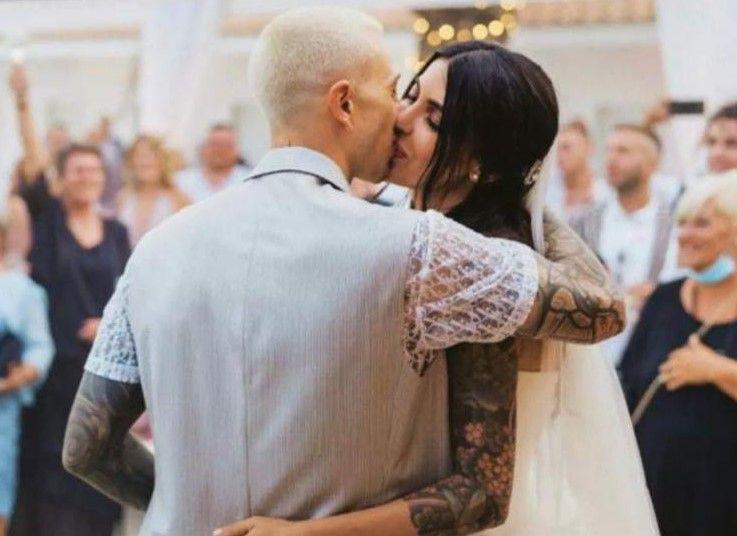 Bernardeschi matrimonio (Instagram)
