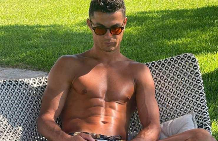 Cristiano Ronaldo pensieroso