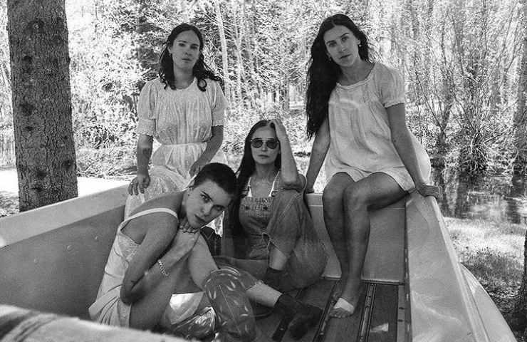 Demi e le figlie (Instagram)