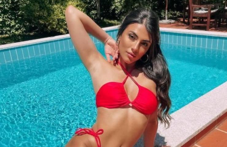 Giulia Salemi in bikini (Instagram)