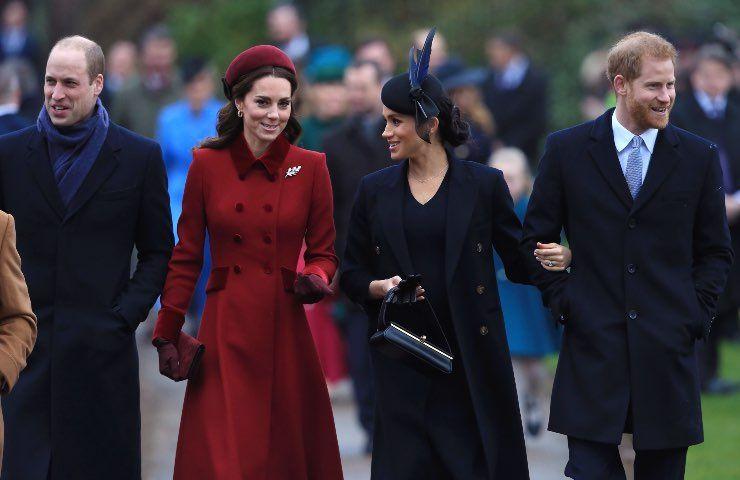 principe William smaschera Meghan Harry scappa Londra