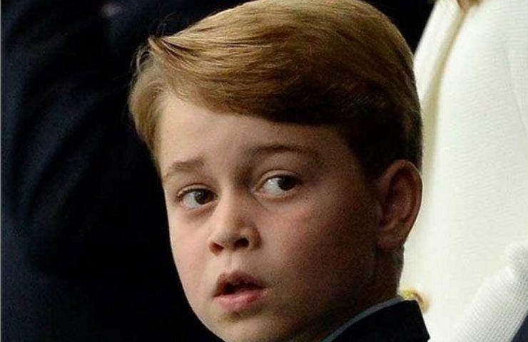 Principino George allo stadio
