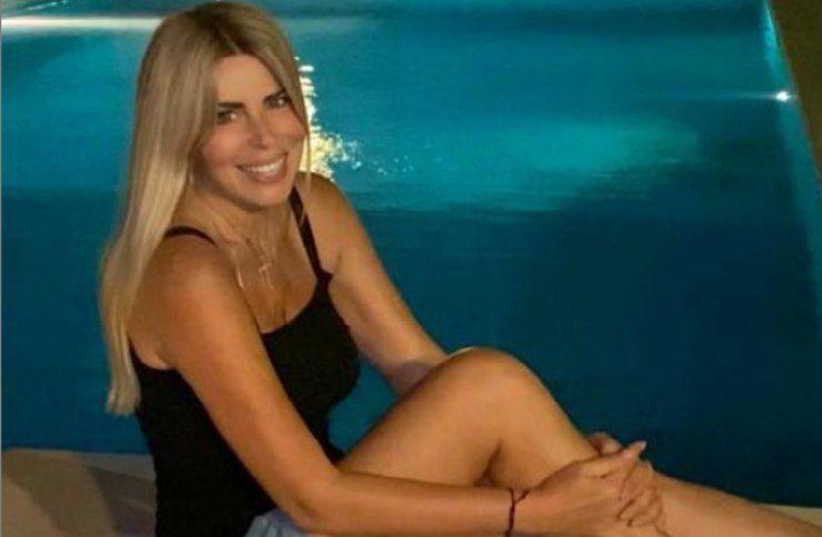 loredana lecciso sorride