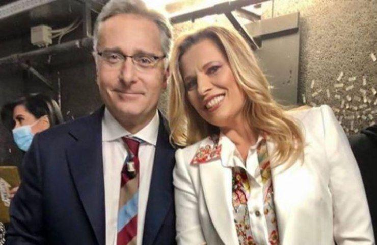 Laura Freddi e Paolo Bonolis