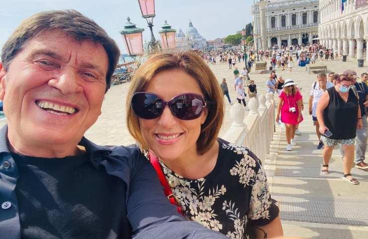 Gianni Morandi ed Anna Dan